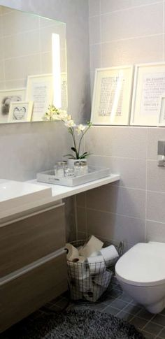 Laundry Room Bathroom, Bathroom Spa, Small Bathroom, New Bathroom Ideas, Bathroom Inspiration, Cosy Interior, Interior Design, Small Toilet Room, Home Spa