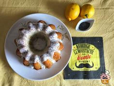 Mr WashiSan Cakes: Bundt cake de limón y semillas de amapola