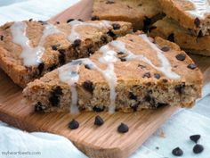 Coconut Chocolate Chip Scones - My Heart Beets