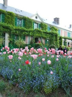 Not Paris, but would love to go there too. Monet's house at Giverny.