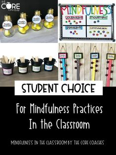 What mindful practices do your students need today? Breathing, Yoga Movement, Journaling, or Communication