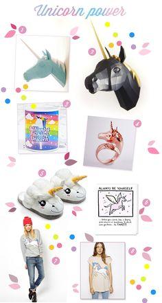 Deco crush #18 sélection spéciale Licorne | Poulette Magique