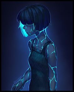 Elyn: A shy person, they live underground and cultivate mushrooms and bioluminescent plants. They fear the surface dwellers, because up there they're seen as a freak. Digital Art Girl, Deviantart, Character Design Inspiration, Pretty Art, Dark Art, Cool Drawings, Art Sketches, Amazing Art, Art Reference