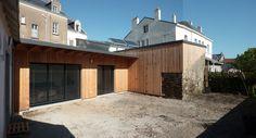 extension bois maison par Altra architectes - Nantes / Loire-Atlantique (France)