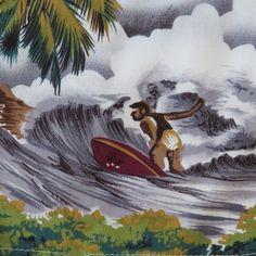 Vintage Hawaiian Aloha Shirt  Paradise of the by shabbyshopgirls, $29.99