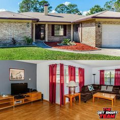 This Property On Derringer Rd Is One Of Our Most Popular Listings Available!  This All Brick Beauty Has A Split Floor Plan With A Spacious Living/Dining Room Combo! (3Bed/2Bath)  1532 Derringer Rd Jacksonville 32225  For A Private Showing:  (904)-472-4358  www.GetSmartTeam.com