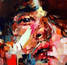 Beautiful Art of Andrew Salgado Art And Illustration, Portraits, Portrait Art, Smoke Painting, Modern Art, Contemporary Art, Figurative Kunst, Abstract Painters, Artist Art