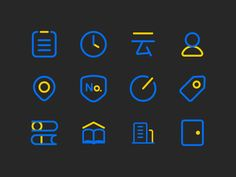 Icons for Yunshu