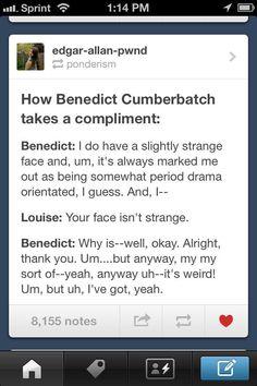 well spoken, Ben