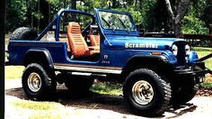 I tried telling my uncle to paint his jeep scrambler this color, but no luck. Jeep Pickup, Jeep Truck, 4x4 Trucks, Cool Trucks, Lifted Trucks, Diesel Trucks, Jeep Scrambler, Cj Jeep, Jeep Cj7