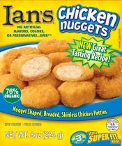 Ian's: All-Natural Allergy-Friendly Foods.  I am going to try sending these in a thermos.