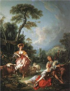 how is rococo painting different from baroque art