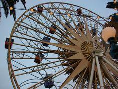 Disneyland. Disney California Adventure Park. Amusement Rides. Paradise Pier. 11-7-07