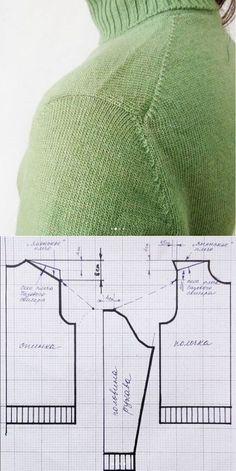 Diy Crafts - Knitting machine knittingmachine 28 Ideas for 2019 Knitting Machine Patterns, Sweater Knitting Patterns, Knitting Designs, Knit Patterns, Sewing Patterns, Diy Crafts Knitting, Easy Knitting, Loom Knitting, Knitting Stitches