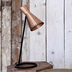 copper living room, angle desk lamp