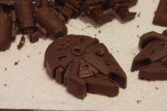 CHOCOLATE STAR WARS