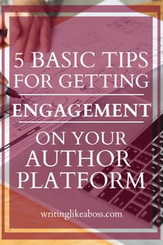 5 Basic Tips for Getting Engagement on Your Author Platform – writing like a boss Writing Genres, Writing Advice, Writing Skills, Editing Writing, Writer Tips, Self Publishing, 1950s Dresses, Maxi Dresses, Vintage Dresses