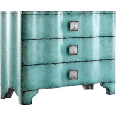 Deerfield Chest #turquoise