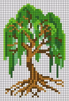 Diy Embroidery Patterns, Embroidery Art, Beading Patterns, Embroidery Stitches, Mini Cross Stitch, Cross Stitch Flowers, Cross Stitch Pattern Maker, Cross Stitch Patterns, Pixel Art