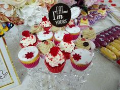 Chic Bonbon cupcakes