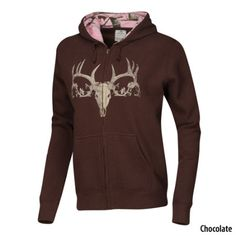 Gander Mountain Womens Camo Full-Zip Hoodie - Chocolate - Gander Mountain.....yes where can i get this:)