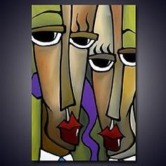 Art: Investors by Artist Thomas C. Fedro