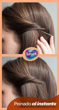 Peinado fácil y duradero en sencillos pasos.