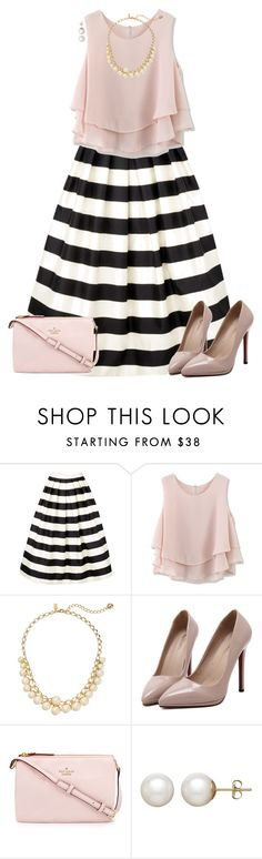 """Can I have this dance?"" by avamariebrown ❤ liked on Polyvore featuring TIBI, Chicwish, Kate Spade, WithChic and Honora"