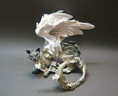 Beautiful sculpture. Artist's shop on etsy.