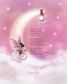 Original fairy poem, illustrated, in fundraiser auction.