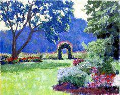 Through the Garden - David Zimmerman Fine Art