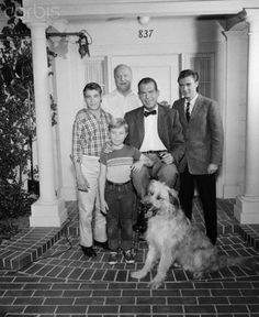 """Fred MacMurray and Cast of """"My Three Sons"""""""