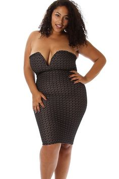 Plus Size Houndstooth Print Sweetheart Dress Availability: In stock.  $39.95 - See more at: http://www.pinkclubwear.com/plus-size-houndstooth-print-sweetheart-dress.html#sthash.KIxakbgJ.dpuf