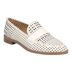 43f9ef4dd384 Women s Franco Sarto Hudley Loafer - Milk Butter Perfed Nappa Leather  Loafers Franco Sarto