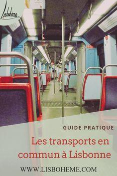 Pour vous aider à organiser votre séjour, un guide pratique sur les transports en commun à Lisbonne. Métro, bus, train et bateau. Accédez aussi aux plans des différents réseaux de transports. #lisbonne #portugal #visiterlisbonne #voyagelisbonne #sejourlisbonne #guidelisbonne