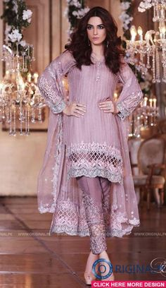 Maria B BD04 Mbroidered Eid Luxury Collection 2017 1