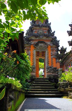 Eight steps to Nirvana, Ubud, Bali, Indonesia.