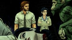 The Wolf Among Us- Bigby Wolf, Snow, and Buffkin