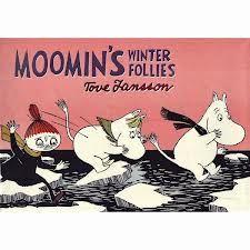 Moomin's Winter Follies by Tove Jansson. Comic strip.