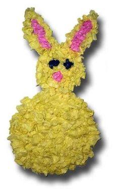 Easy Spring Crafts for Kids - Tissue Easter bunny! Spring Crafts For Kids, Easter Crafts For Kids, Summer Crafts, Preschool Crafts, Holiday Crafts, Easter Ideas, Children Crafts, Holiday Ideas, Snail Craft
