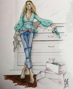 Fashion Illustration Collage, Dress Illustration, Fashion Illustration Dresses, Fashion Illustrations, Fashion Model Sketch, Fashion Sketches, Fashion Models, Girl Fashion, Dress Design Sketches