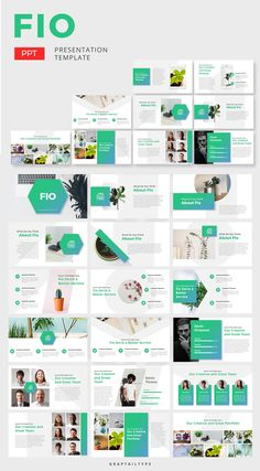 Fio Corporate - Powerpoint by graptailtype on Envato Elements Best Presentation Templates, Presentation Board Design, Corporate Presentation, Presentation Slides, Presentation Folder, Powerpoint Slide Designs, Powerpoint Design Templates, Booklet Design, Templates Free