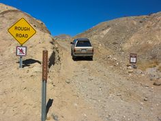 Starting up the rough road to the Calcite Mine.  See more at http://www.backroadswest.com/anza/2011/10/calcite-mine/