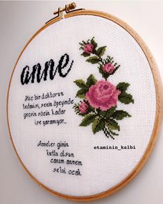 Hand Stitch Embroidery Patterns, Embroidery Tools, Embroidery Letters, Types Of Embroidery, Modern Cross Stitch Patterns, Hand Embroidery, Mother Daughter Pictures, Knot Pillow, Cross Stitch Art