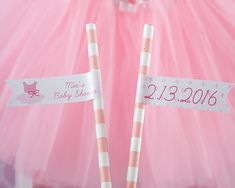 If you think you have enough decorations for your ballet-themed baby shower or birthday party, chances are you don't! So why not add these delightful Tutu Cute party flags to your list of party decor?