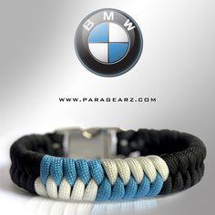 BMW inspired 550 paracord bracelet