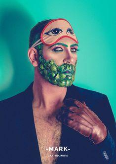 Saudades de 'RuPaul's Drag Race'? Então aí vão homens com MUITO glitter na barba vão desafiar suas ideias sobre gênero (FOTOS)