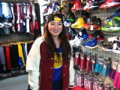 【新宿2号店】 2014年3月24日 ヘッドバンドをお買い上げ頂きました❢❢ 服装がとてもオシャレです(^o^) またのお越しをお待ちしております❢❢ #nba