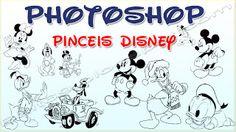 Brushes (Pincéis) Disney para Photoshop #1 | Bait69blogspot