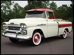 58 Chevy Cameo